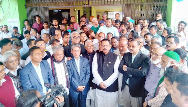চসিক নির্বাচন :: মনোনয়ন ফরম জমা দিলেন মেয়র প্রার্থী রেজাউল করিম চৌধুরী