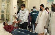 বান্দরবানের বীর বাহাদুর ফাউন্ডেশনের উদ্যোগে সদর হাসপাতালের রোগীদের ফলমূল বিতরণ