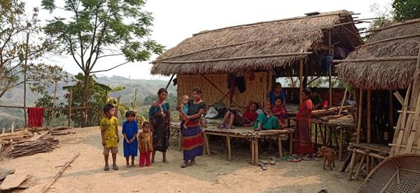 রাঙ্গামাটি সাজেকের ১৩০টি গ্রামের ৭হাজার অধিক পরিবার কেউ সহায়তা পাননি