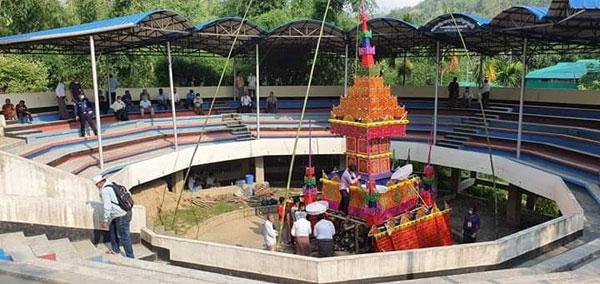 বান্দরবানে ১৭তম বোমাং রাণীর শেষকৃত্যানুষ্ঠান সম্পন্ন