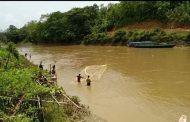 কাচালং নদীতে নিষেধাজ্ঞা অমান্য করে অবাদে চলছে ' মা মাছ' নিধন