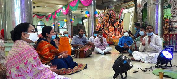 বান্দরবানে অনাড়ম্বরভাবে সনাতন ধর্মালম্বীদের জন্মাষ্টমী উৎসব উদযাপন