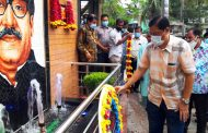 বান্দরবানে জাতির জনক বঙ্গবন্ধু শেখ মুজিবুর রহমানের প্রতিকৃতি উম্মোচন