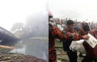 রাঙ্গামাটির কুতুকছড়িতে বেইলি ব্রীজ ভেঙ্গে ট্রাক নদীতে পড়ে চালকসহ নিহত ৩,রাঙ্গামাটি-খাগড়াছড়ি যানচলাচল বন্ধ